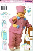 Butterick 6280 Infant Jacket Vest Jumper Jumpsuit Pattern UNCUT