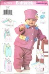 Butterick 6280 Infant Clothing Pattern