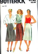 Butterick 6790 Pleated Skirt Pattern UNCUT