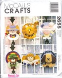 McCalls 2655 Straw Hat Wreath Pattern UNCUT