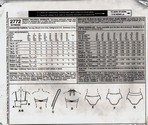 McCalls 2772 Size 14 Two Piece Swimwear Pattern