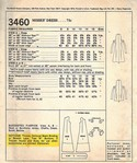 McCall's 3460 Vintage Dress Sewing Pattern