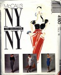 McCalls 4180 NY Collection Wardrobe Pattern UNCUT
