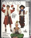 McCalls 4461 Medium Costume Halloween Pattern UNCUT