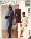 McCalls 4523 Sheath Dress Pattern UNCUT