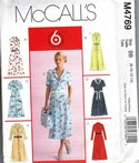 McCalls 4769 Size BB Summer Dress Pattern UNCUT