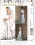 McCalls 4776 AAX Bridal Gown and Shrug Pattern UNCUT
