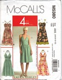 McCalls 5380 Laura Ashley Sundress Pattern UNCUT