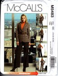 McCalls 5483 Wardrobe Suit Pattern UNCUT