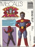 McCalls 5642 Med Captain Planet Costume Pattern UNCUT