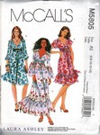 McCalls 5805 Laura Ashley Dress Pattern UNCUT