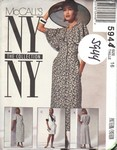 McCalls 5944 Sheath 1992 Dress Pattern UNCUT