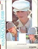 McCalls 6198 Vintage Hat Pattern UNCUT