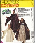 McCalls 6775 Children's Medieval Costume Pattern UNCUT