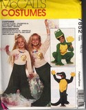 McCalls 7852 Alligator Frog Mermaid Costume Pattern