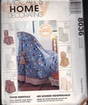 McCall's 8036 Chair Cover Pattern UNCUT