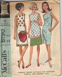 McCall's 8190 Sixties Era Sleeveless Dress Pattern UNCUT