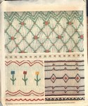 McCall's 8579 Smocking Transfer Patterns UNCUT