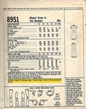 McCall's 8951 Sixities Sheath Dress Pattern Large UNCUT