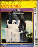 McCalls P243 Casper Ghost Costume Pattern UNCUT