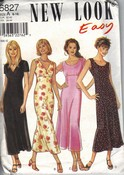 New Look 6827 Size A Easy Dress Pattern UNCUT