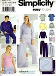 Simplicity 0642 Knit Casual Separates Pattern UNCUT