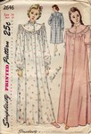 Simplicity 2646 Vintage Nightgown Pattern UNCUT