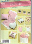 Simplicity 4642 Baby Gifts Pattern UNCUT