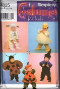 Simplicity 4825 Child Toddler Halloween Costume