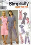 Simplicity 5191 Size BB Design Your Own Shirtdress Pattern UNCUT