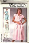 Simplicity 7475 Size 0 Easy to Sew Vintage Dress Pattern UNCUT