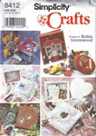 Simplicity 8412 Memory Book Boxes Frames Pattern UNCUT