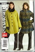 See Sew 4901 Size B Coat Jacket Sewing Pattern