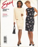 Stitch 'n Save 2554 Jacket Dress Pattern UNCUT