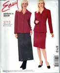 McCalls stitch 'n save 3713 Suze B Easy Suit Pattern UNCUT