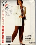 McCalls stitch 'n save 5577 Size A Jacket Pants Pattern UNCUT