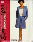 McCalls stitch 'n save 5844 Jacket Shorts Pattern UNCUT