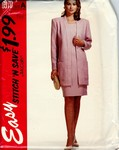 McCalls 6970 stitch 'n save Sz A Jacket Dress UNCUT