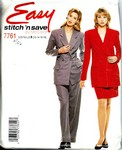 stitch 'n save 7761 Suit Pattern UNCUT