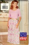 Butterick See & Sew 3407 Skirt Top Pattern UNCUT