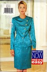 Butterick See & Sew 3733 Dressy Top Skirt Pattern UNCUT