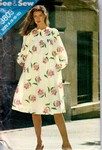 Butterick See & Sew 3803 Smock Dress Pattern UNCUT