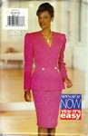 Butterick See & Sew 3825 Fancy Suit Pattern UNCUT