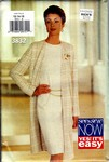 Butterick See & Sew 3832 Jacket Dress Pattern UNCUT