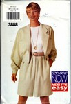 Butterick See & Sew 3888 Jacket Split Skirt Pattern UNCUT