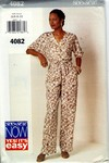 Butterick See & Sew 4082 Top Pants Pattern UNCUT