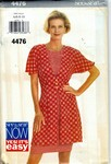 Butterick See & Sew 4476 Layered Dress Pattern UNCUT