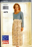 Butterick See & Sew 4479 Dress Pattern UNCUT