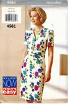 Butterick See & Sew 4561 Sheath Dress Pattern UNCUT