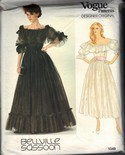 Vogue 1049 Belleville Sassoon Evening Dress Pattern UNCUT